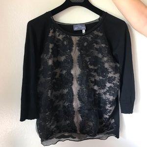 Lanvin vintage lace sweater